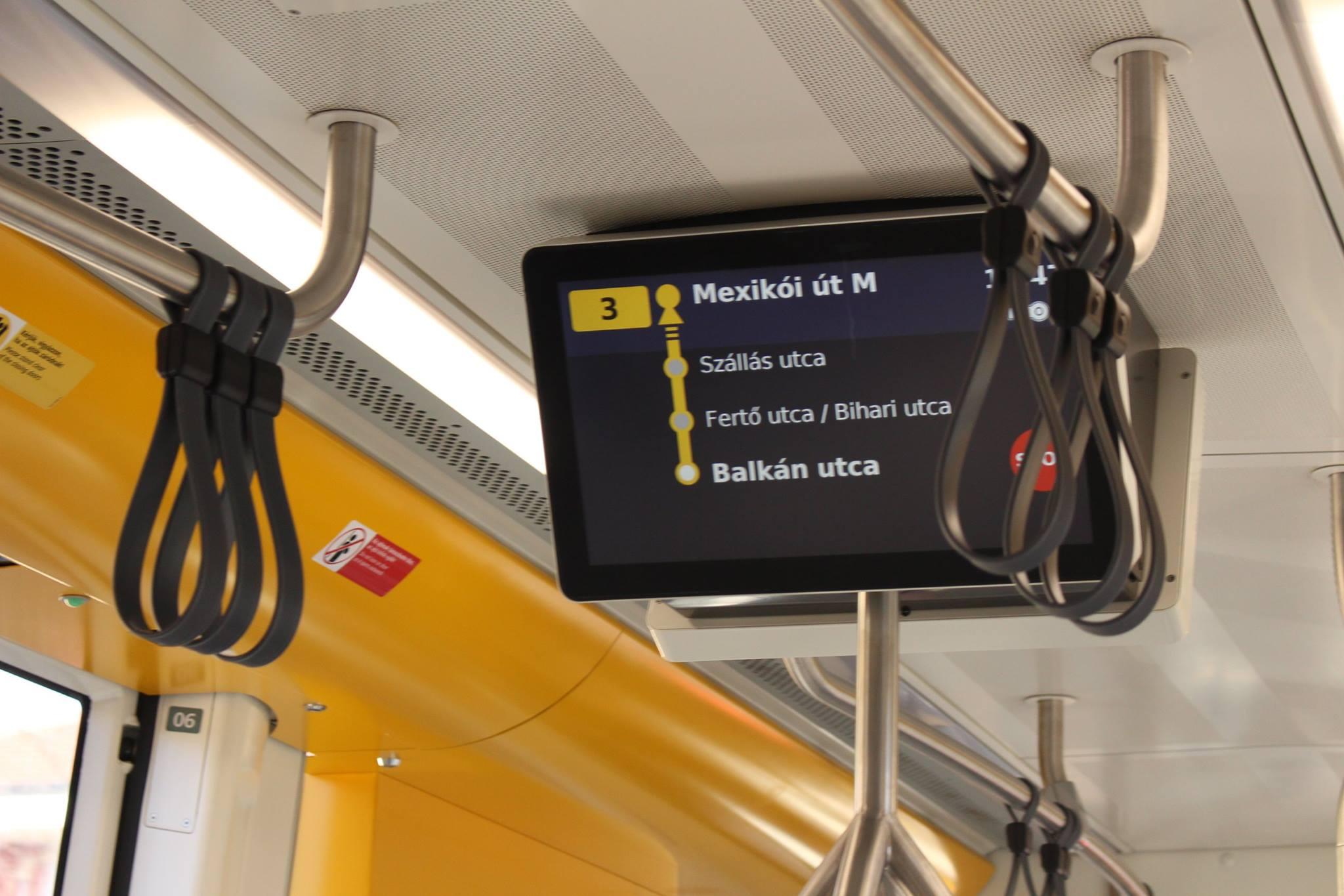 8 3-as villamosvonal route4u kerekesszékes térkép, akadálymentes térkép