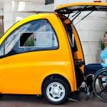 Kenguru: autó kerekesszékesek számára